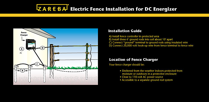 wiring diagrams for zareba electric fence 41 wiring