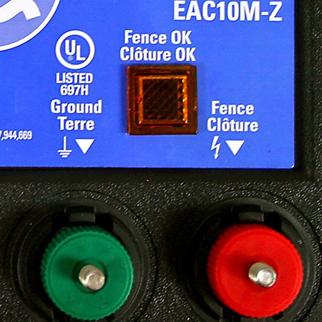 Monitor the status of your fence