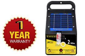 2 Mile Fence Charger 2 Mile Solar Charger Zareba Esp2m Z