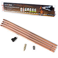 ElectroBraid® Copper Sectional Ground Rod Kit