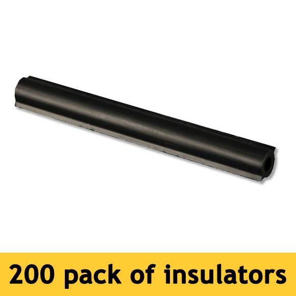 Zareba 174 4 Inch Fin Tube Insulators 200 Pack Model Ht4fti200