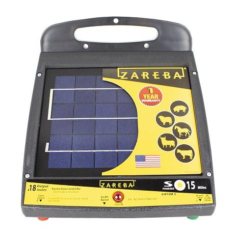 Zareba Systems 15 Mile Solar Low Impedance Charger is Built to Last