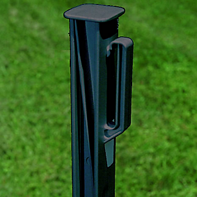 heavy-duty insulated fence post