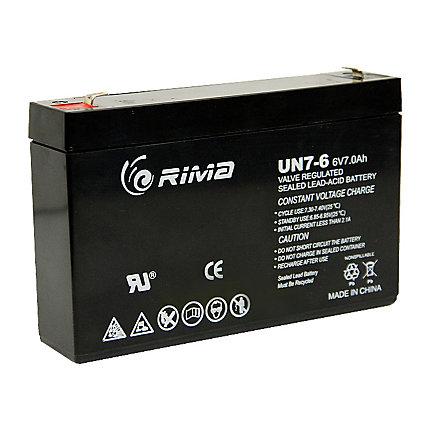 Zareba 174 6v 5 Mile Solar Energizer Replacement Battery