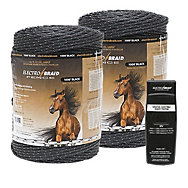 ElectroBraid® Buy 2 Reels, Get 1 FREE Fence Tester (ZarebaSystems.com Exclusive Bundle)