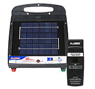 Fi-Shock® Solar-Powered, 10 Mile Charger and Fence Tester