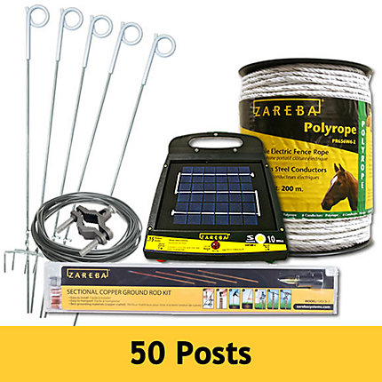 Polyrope Electric Fence System All In One Kit Electric