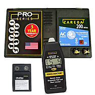 Zareba® 200 Mile AC Low Impedance Charger and Fence Doctor Bundle