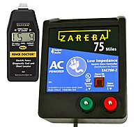 Zareba® 75 Mile AC Low Impedance Charger and Fence Doctor Bundle