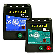 Zareba® 50 Mile AC Charger, Plus Backup 50 Mile Battery Charger