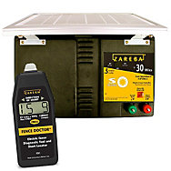 Zareba® 30 Mile Solar Low Impedance Charger and Fence Doctor Bundle