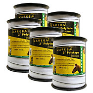 Buy 4, Get One Free - Zareba® 2 Inch Poly Tape - 2,500 Feet