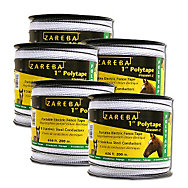 Buy 4, Get One Free - Zareba® 1 Inch Poly Tape Roll - 3,280 Feet