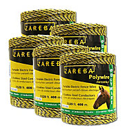 Buy 4, Get One Free - Zareba® Poly Wire 6,600 Feet, 6 Conductors