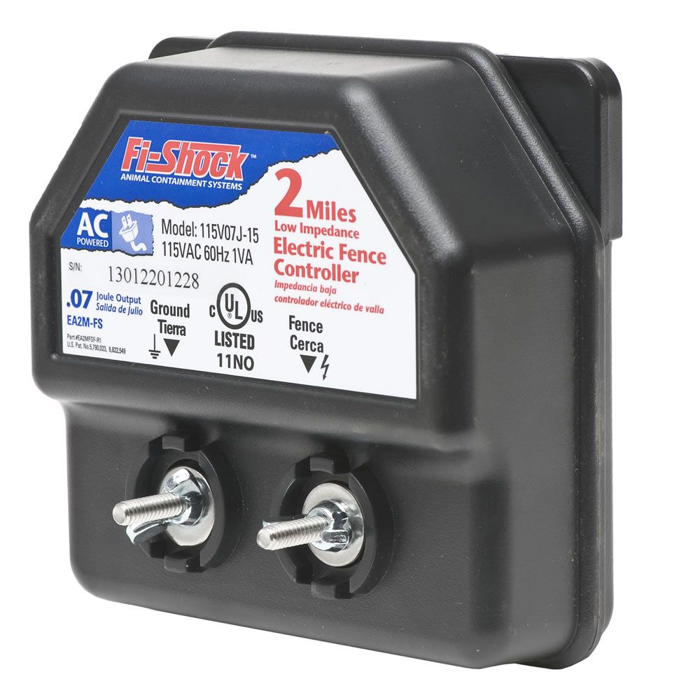 Fi Shock 174 2 Mile Ac Low Impedance Energizer Model Ea2m Fs
