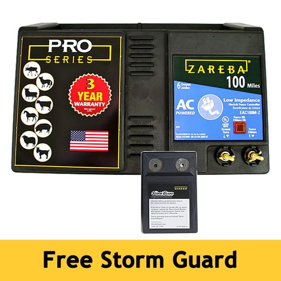 Zareba 174 100 Mile Ac Powered Electric Fence Charger