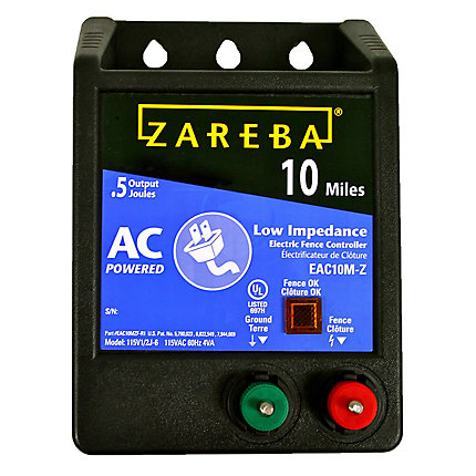 Zareba 174 10 Mile Ac Low Impedance Fence Charger Model Eac10m Z