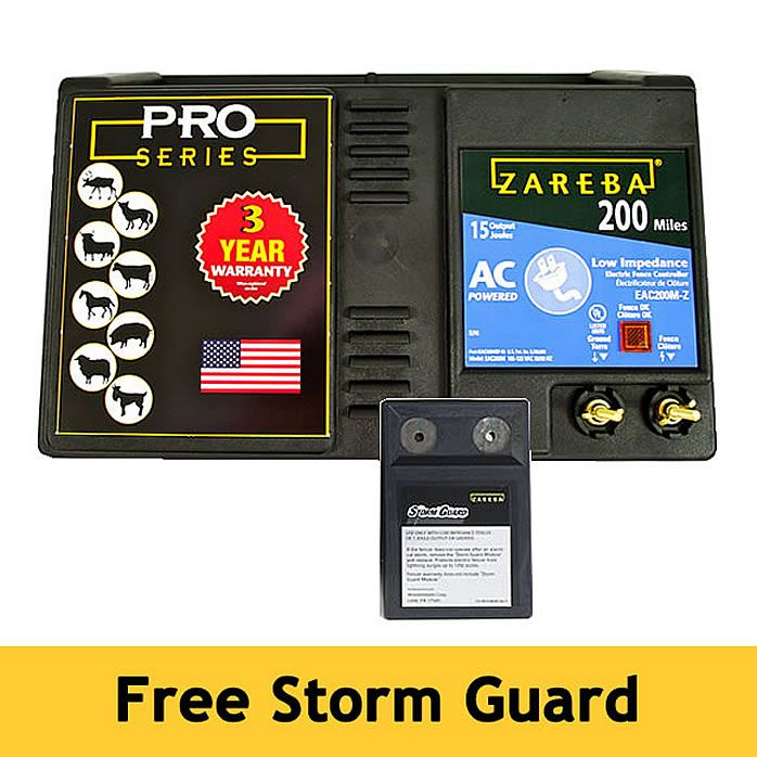 Zareba 174 200 Mile Ac Powered Electric Fence Charger