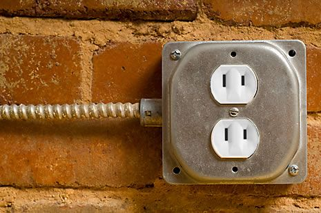 two prong outlet