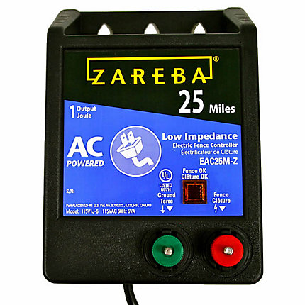 Zareba 174 25 Mile Ac Low Impedance Fence Charger Model Eac25m Z