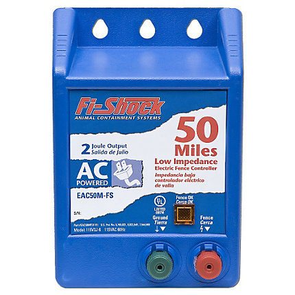 Fi Shock 174 50 Mile Ac Charger 2 Joules Model Eac50m Fs