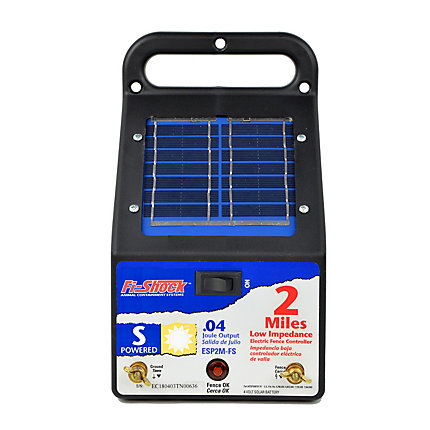 Fi Shock Solar Powered 2 Mile Charger