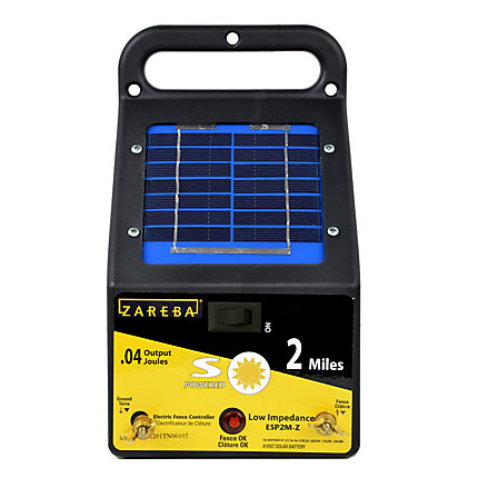 Zareba® 2 Mile Solar Fence Low Impedance Charger