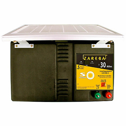 Zareba® 30 Mile Solar Powered Low Impedance Charger
