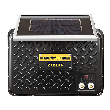 Zareba 174 Black Diamond 15 Mile 6v Solar Low Impedance