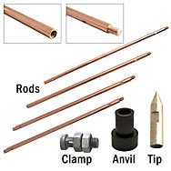 Zareba® Copper Sectional Ground Rod Kit