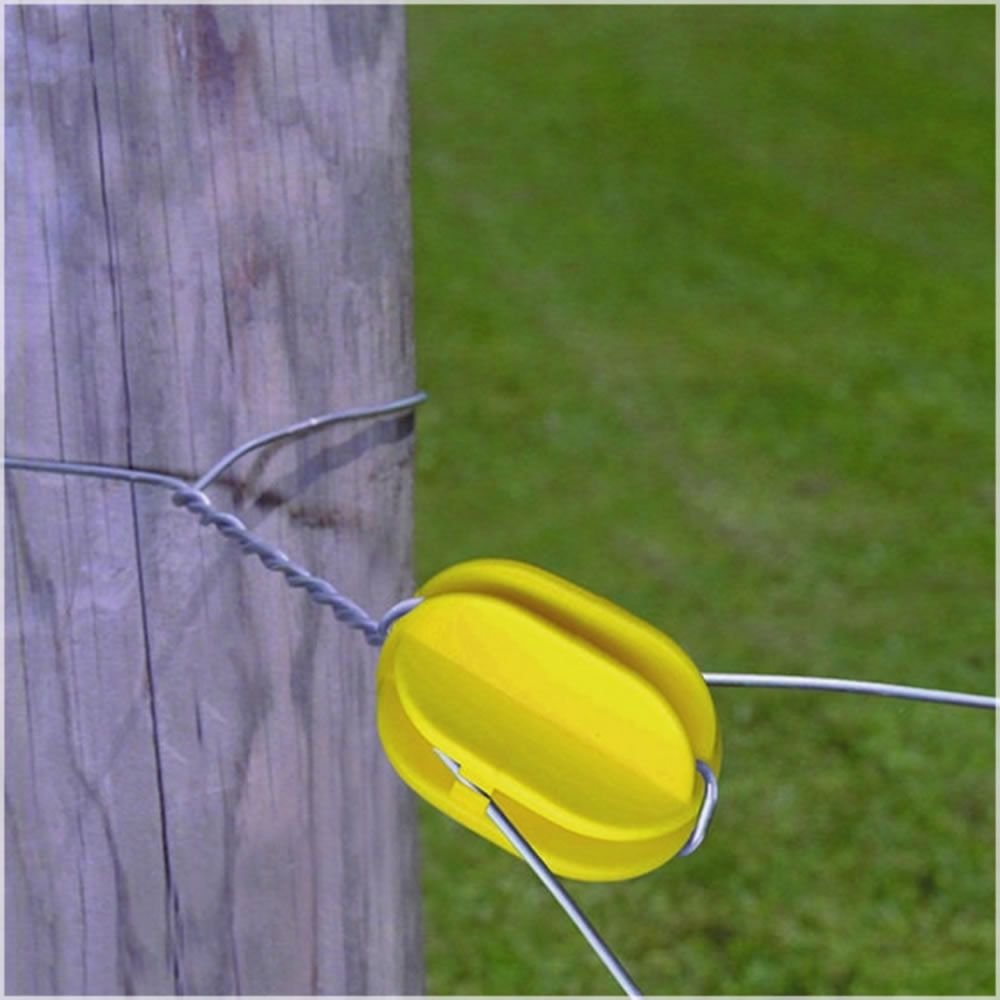 Corner Post Yellow