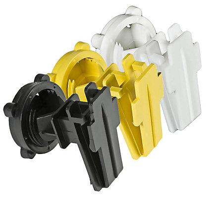 Zareba® Poly Tape Round Post Insulators