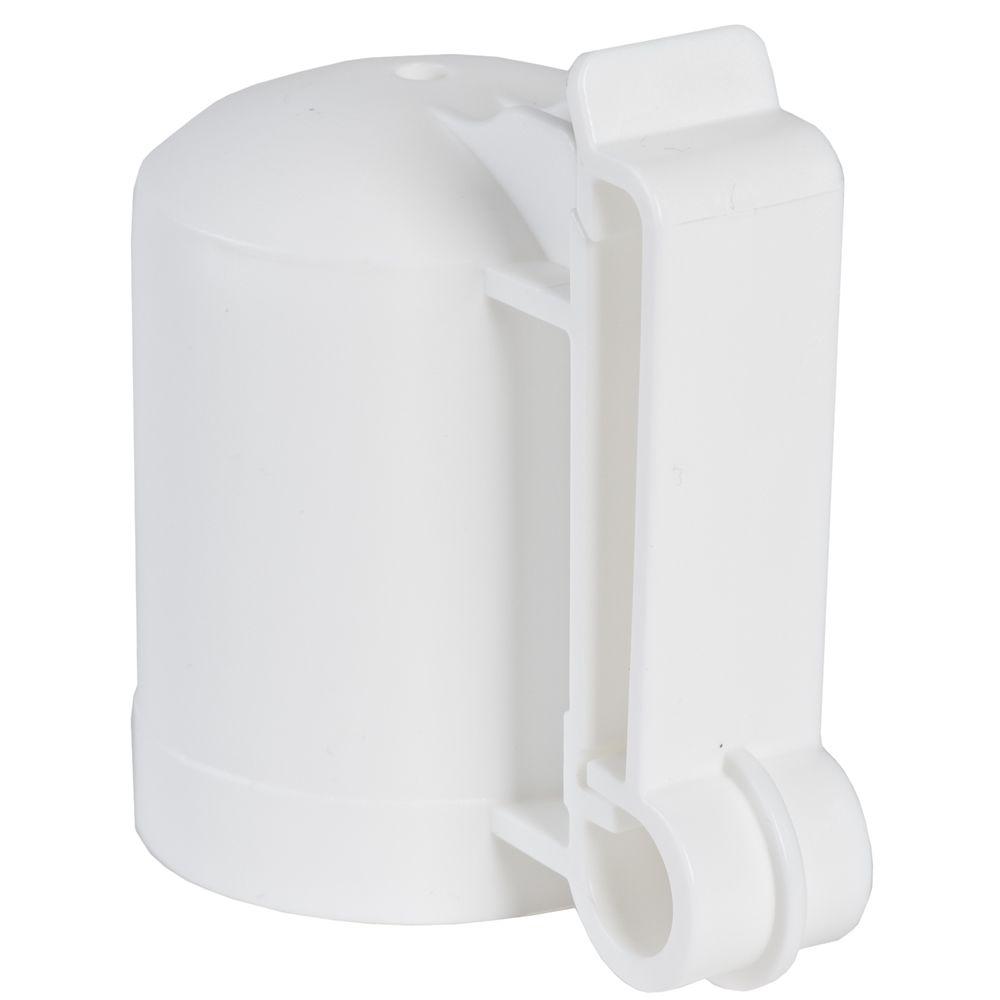 Fi Shock 174 White T Post Safety Cap Amp Insulator Model