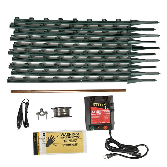 Electric Fence for Garden Kit Garden Electric Fence Kit Zareba