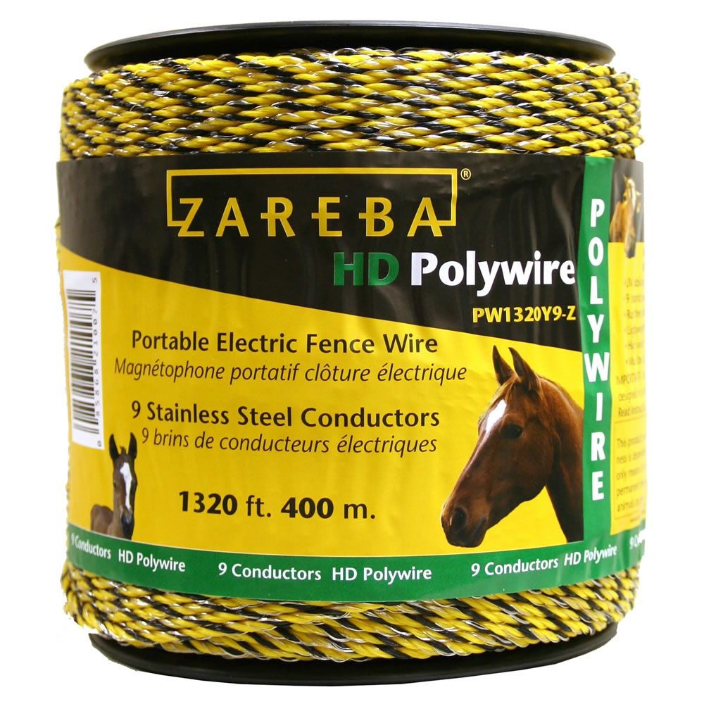 Zareba 174 Poly Wire 1 320 Ft 9 Conductors Model Pw1320y9 Z