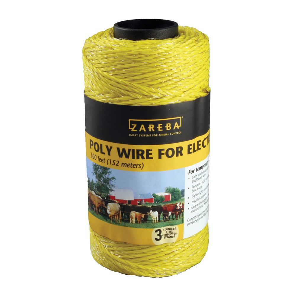 500 Ft 3 Strand Polywire