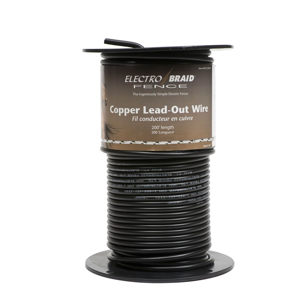 Electrobraid 174 High Voltage Insulated Copper Lead Out Wire