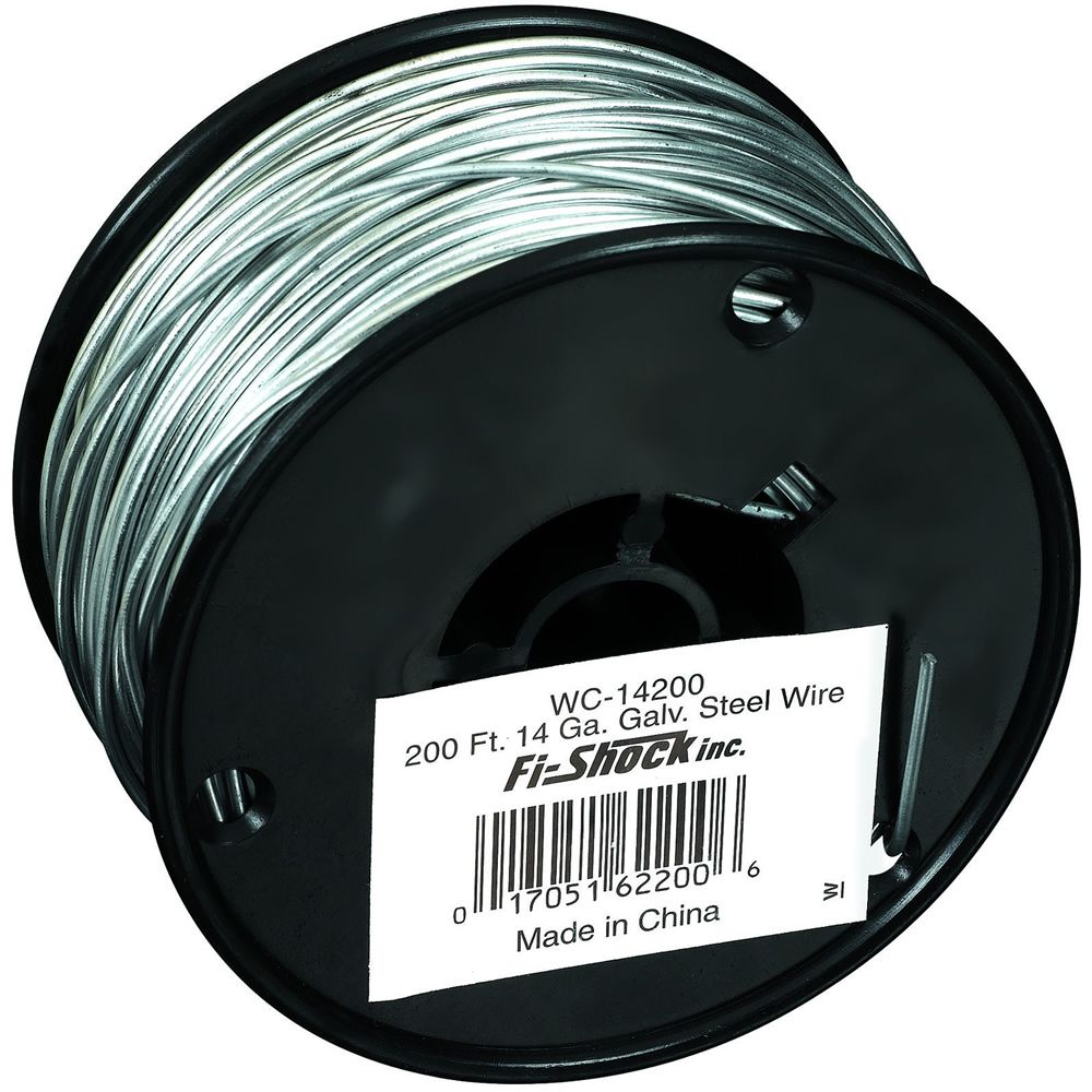 zareba 200foot 14 gauge galvanized steel wire