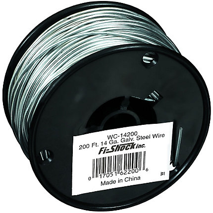 200 ft 14 gauge steel electric fence wire zareba all photos greentooth Image collections