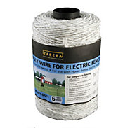 Zareba® Poly Wire 656 Feet, 6 Conductors, White