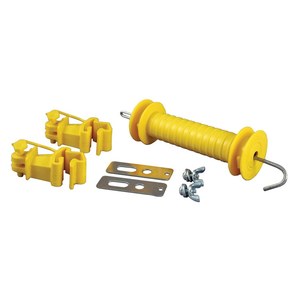 Fence Accessories, Zareba® T-Post Yellow Gate Kit, YTPGK10