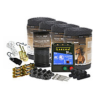 ElectroBraid® Small Paddock Starter Kit - Black