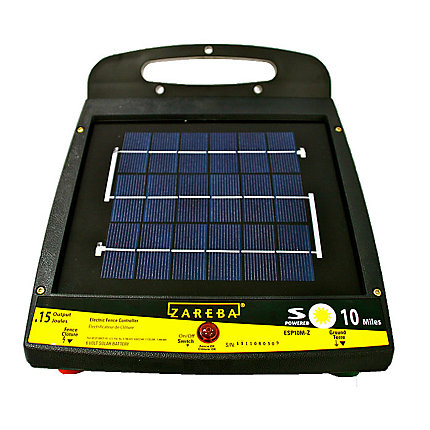 Zareba 174 10 Mile Solar Powered Electric Fence Charger