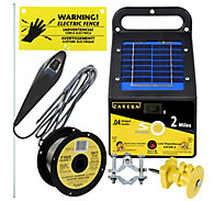 Zareba® Solar Garden Protection Kit for Existing Fences