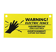 Zareba® Electric Fence Warning Signs