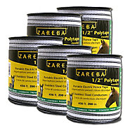 Buy 4, Get One Free - Zareba® 1/2 Inch Polytape - 3,280 Feet