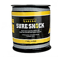 Zareba® 1 inch Heavy-Duty Sure Shock™ Polytape - 500 foot Reel