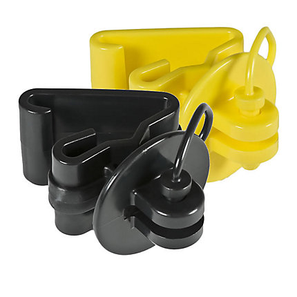 Zareba® Pin-Lock T-Post Insulators