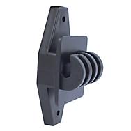 Zareba® Black Wood Post Claw Insulators - 25/Pack